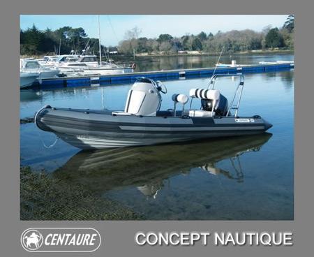 concept nautique centaure semi rigide